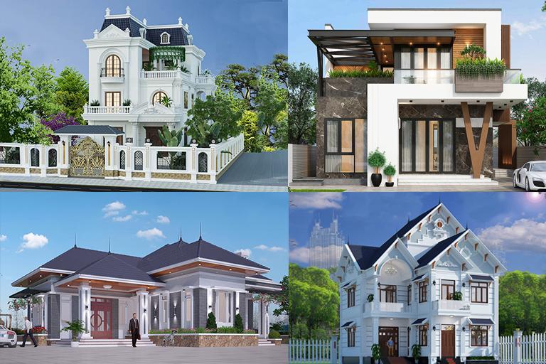 Các mẫu nhà ở và kinh doanh đẹp